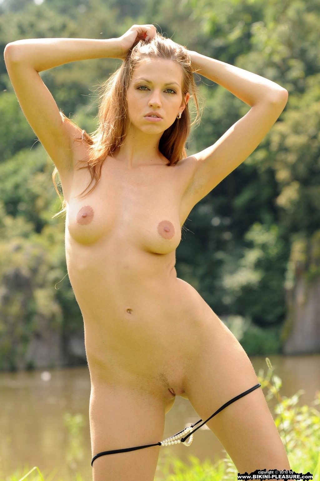 Eufrat nude in nature
